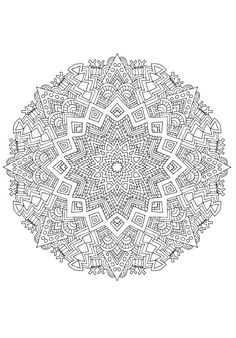 60 Mandala Coloring Pages