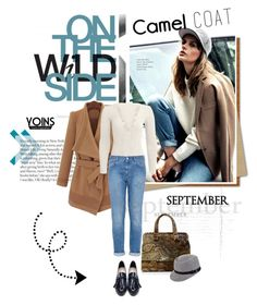 """Wear a Camel Coat!"" by lacas ❤ liked on Polyvore featuring STELLA McCARTNEY, Marian Paquette, Accessorize and camelcoat"