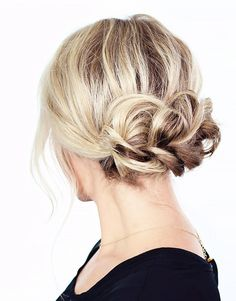 messy up-do perfection