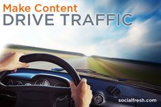 How To Make Content Drive Traffic via socialfresh.com It has 4 Steps to improve your social selling presence on the web. 1.Post your research in places where your persona gathers 2.Keyword optimize articles on your site 3.Use social listening technology to find relevant conversations 4.Use lead capturing technology to add blog readers to your sales funnel. #socialmediapresence #webcontentmarketing