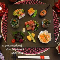 Sushi Recipes, Asian Recipes, Gourmet Recipes, Japanese Dishes, Japanese Food, Japanese Vegetarian Recipes, Plate Lunch, New Year's Food, Food Decoration