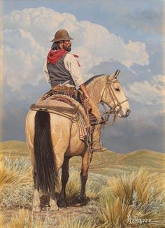 "AC - ""EL RASTREADOR"" Science Illustration, Character Illustration, Rio Grande Do Sul, Mountain Man, Oil Pastel Colours, Abercrombie Men, Cowboy Art, Mountain Tattoo, Native American History"