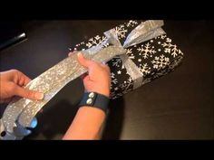 How to Wrap The Perfect Christmas Present - The Bow - YouTube