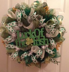 St. Patricks Day Luck of the Irish Wreath