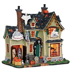 Lemax Spooky Town Collection Scariest Halloween House Decoration