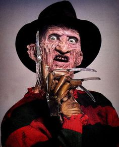 Freddy Krueger, the primary villain and antagonist of the Nightmare on Elm Street horror franchise!