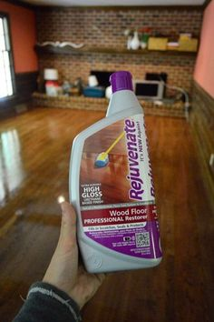 Rejuvenate hardwood floors