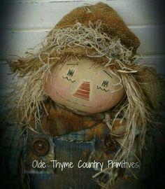 Scarecrow Cutie