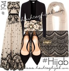 Hashtag Hijab Outfit #194 van hashtaghijab met Loro PianaAdrianna Papell maxi dress€360 - houseoffraser.co.ukHobbs jacket€42 - houseoffraser.co.ukGianvito Rossi black pumps€510 - brownsfashion.comClutch wallet€16 - newlook.comVintage jewelry€47 - sweetromanceonline.comLoro Piana scarve€845 - mytheresa.com