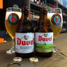 Comparativo Duvel e Duvel Tripel Hop 2015 #cerveja #degustacao #beer #tasting