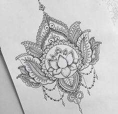@oliviafaynetattoo Mandela Inspired: Lotus Flower 2