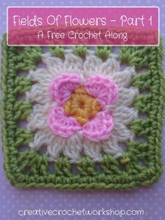 This Raised Petal Flower Square is part of the Fields Of Flower Free 2017 Crochet Along. A beautiful flower inspired afghan.