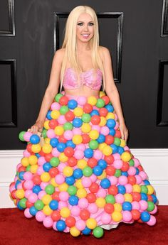 Grammys 2017: The Most Bizarre Outfits on the Red Carpet