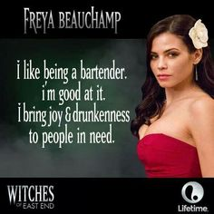 She's gorgeous. Freya - Witches of East End Witches Of East End, Jenna Dewan, Tv Show Quotes, People In Need, Figure It Out, Music Love, Reality Tv, Movies Showing, Beautiful Actresses