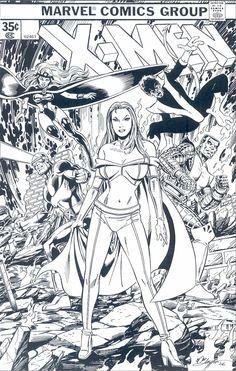 X-Men by Bob Layton.