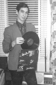 At age 14 with my first record.