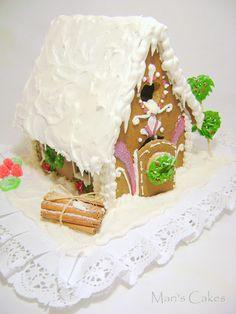 Gingerbread House II / CASITA de JENGIBRE