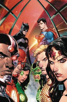 DC COMICS (W) Bryan Hitch Spinning out of the events of DC UNIVERSE: REBIRTH #1, a new day dawns for Earth's greatest heroes as they welcome three new members to the team, including...Superman? Who is