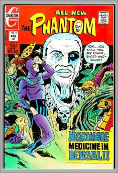 Ghost Walk, Charlton Comics, Comics For Sale, Silver Age Comics, Star Comics, Amazing Spider, Comic Covers, Vintage Books, Water Stains