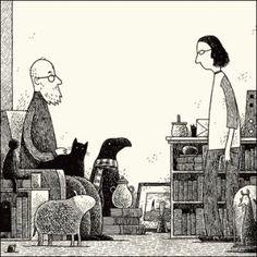 Tom Gauld | du9, l'autre bande dessinée