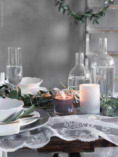 ikea hack hochzeit alvine spets vorhang zu tischdecke hochzeit pinterest tisch dekoration. Black Bedroom Furniture Sets. Home Design Ideas