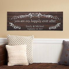 """You Are My Happily Ever After Canvas 