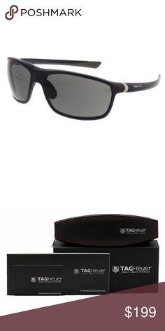 ea1b0619b07d Tag Heuer 6023 Sunglasses 103 Grey Polarized These are 100% Genuine