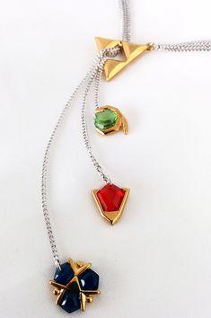 Legend of Zelda: Ocarina of Time Spiritual Stones jewelry – By The PixelSmithy | #geek #Nintendo #OoT