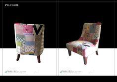 WBM exclusive patchwork armchair.