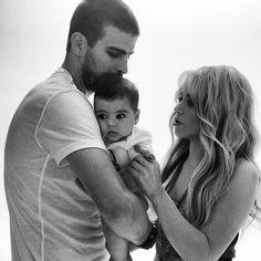 Gerard, Milan & Shakira