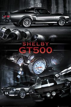 Ford Shelby Mustang GT500 in all of it's glory! Hit the image to see more... #spon #carporn #Mustang