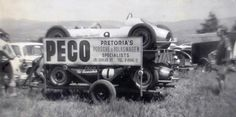 Roy Hesketh Circuit - First Formula Vee's in South Africa. Bottom car is Pat Sonneschein's c1964.