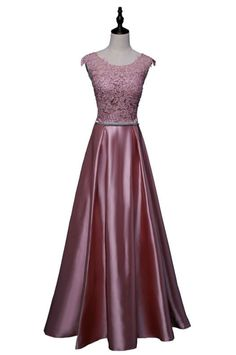 New arrival party evening dresses Long A-line appliques
