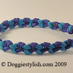 How To Make A Paracord Dog Collar Using The Seesaw Knot by Doggie Stylish