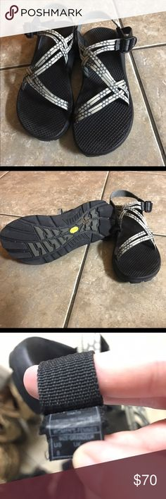Women's size 8 Chaco Size 8 chacos. In excellent condition except for salt water residue! Barely worn and in awesome condition. Chaco Shoes Sandals