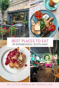 Find the best restaurants in Edinburgh inside this guide. Where to eat in Edinburgh for first time travellers from traditional Scottish food instagrammable cafes in Edinburgh. | My Little World of Travelling | Best restaurants in Edinburgh | Edinburgh food guide | Edinburgh travel tips | Scotland travel tips | UK travel destinations