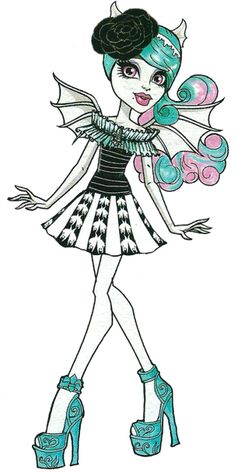 All about Monster High: Monster High artworks