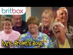 Brown goes off script, the cast struggle to keep a straight face. Here are our favorite outtakes and improvised moments from the show! Mrs Browns Boys, Itv Shows, Uk Tv, Adult Humor, Old Movies, Script, Documentaries, Comedy, It Cast