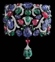 Sultanesque - Reminiscent of Cartier Tutti-Fruitti design
