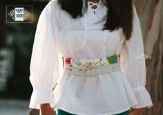#moda #mulher #roupa #presentes #portugal #conjuntos | Limited edition: only 12 made | Tunic Balloon & Belt Garden on blue dots