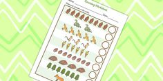 Twinkl Resources >> The Gruffalo Counting Sheet >> Printable resources for Primary, EYFS, KS1 and SEN.  Thousands of classroom displays and teaching aids! Worksheets, Story Books, The Gruffalo, Counting, Maths, Numeracy