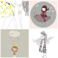 Selection de jolis posters pour chambre d'enfant et bébé