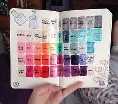Nail polish collection #wreck #this #journal
