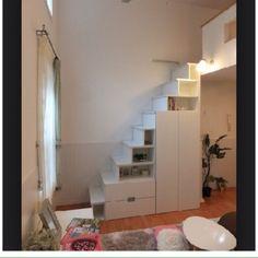 ロフティ/ロフト階段/ロフトハシゴ/子供部屋/部屋全体のインテリア実例 - 2015-01-17 14:35:11 | RoomClip(ルームクリップ)