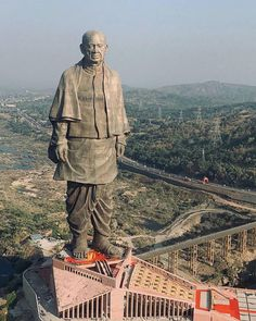 sardar vallabhbhai patel lal krishna advani narendra modi statue of unity., Sardar Vallabhbhai Patel Statue of Unity inauguration today Worlds Vallabhbhai Patel, Zeus Statue, Places To Travel, Places To Visit, Poseidon, Narmada River, Amazing India, India Travel, Chara