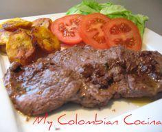 My Colombian Cocina - Carne Borracha Colombian Cuisine, Cuban Cuisine, Colombian Recipes, Healthy Menu, Healthy Cooking, Healthy Recipes, Meat Recipes, Mexican Food Recipes, Cooking Recipes