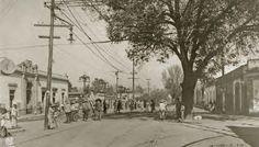 Cárcel ubicada en el rumbo del populoso barrio de Mixcoac. Ca.1922.