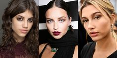 Push the boundaries of black liner and dark lipstick, play with peach tonesand change the way you do glitter.