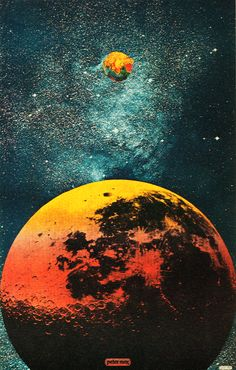 Outer Space 1967 (Peter Max)