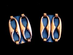 Renoir Espana Earrings Vintage RENOIR Copper by TheCopperCat